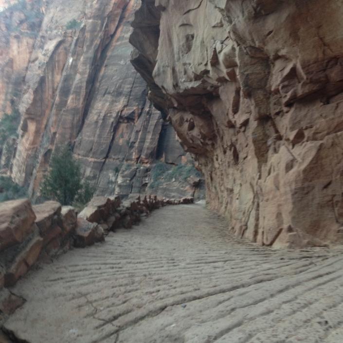 West Rim Trail Zion National Park.